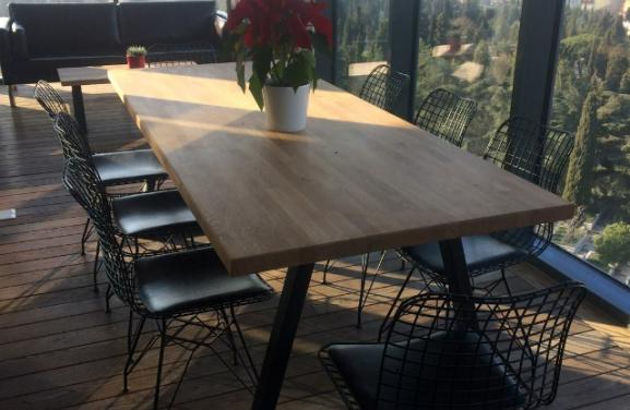 Masif yemek masası